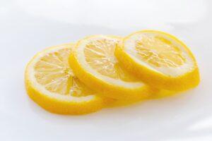 Lemon peels